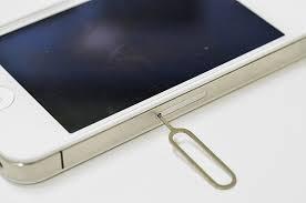 iPhoneのsimピン
